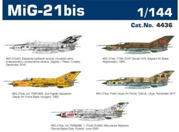 MiG-21bis - Super44 · EDU 4436 ·  Eduard · 1:144