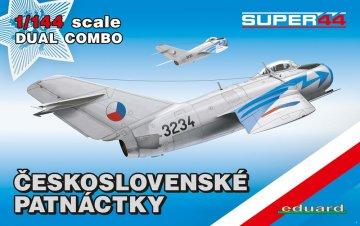 Ceskoslovenske patnactky - Dual Combo - Super44 · EDU 4441 ·  Eduard · 1:144