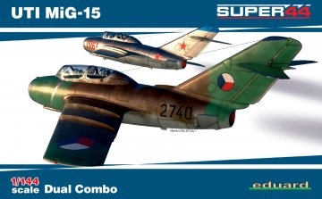 UTI MiG-15 - Dual Combo   - Super44 · EDU 4444 ·  Eduard · 1:144