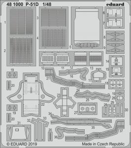 P-51D [Eduard] · EDU 481000 ·  Eduard · 1:48