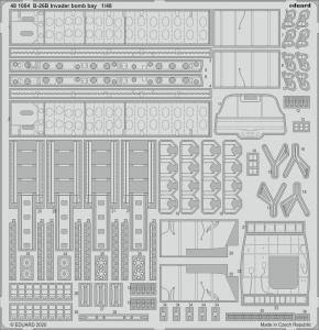 B-26B Invader - Bomb bay [ICM] · EDU 481004 ·  Eduard · 1:48