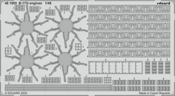 B-17G - Engines [HKM] · EDU 481005 ·  Eduard · 1:48