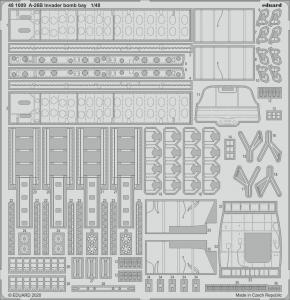 A-26B Invader - Bomb bay [ICM] · EDU 481009 ·  Eduard · 1:48