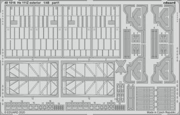 Heinkel He 111Z - Exterior [ICM] · EDU 481016 ·  Eduard · 1:48