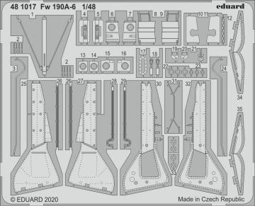 Focke Wulf Fw 190 A-6 [Eduard] · EDU 481017 ·  Eduard · 1:48