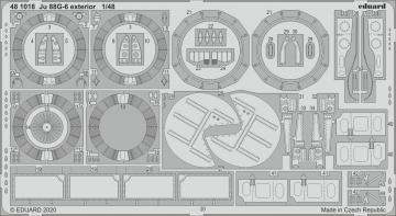 Junkers Ju 88 G-6 - Exterior [Dragon] · EDU 481018 ·  Eduard · 1:48
