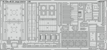 Mi-24 - Cargo interior [Zvezda] · EDU 481020 ·  Eduard · 1:48