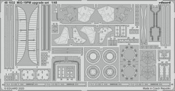 MiG-19PM - Upgrade set [Eduard] · EDU 481032 ·  Eduard · 1:48