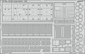 HH-34J - Cargo interior [Trumpeter] · EDU 481038 ·  Eduard · 1:48