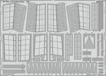 Il-2 Stormovik - Landing flaps [Zvezda] · EDU 481042 ·  Eduard · 1:48