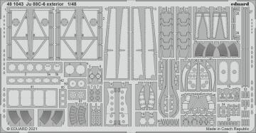Junkers Ju 88 C-6 - Exterior [ICM] · EDU 481043 ·  Eduard · 1:48