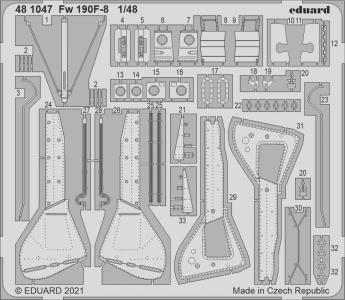 Focke Wulf Fw 190 F-8 [Eduard] · EDU 481047 ·  Eduard · 1:48