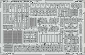 Blenheim Mk.I - Bomb bay [Airfix] · EDU 481051 ·  Eduard · 1:48