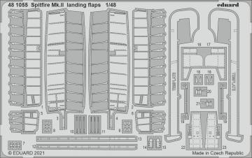 Spitfire Mk.II - Landing flaps [Eduard] · EDU 481055 ·  Eduard · 1:48