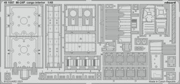 Mi-24P - Cargo interior [Zvezda] · EDU 481057 ·  Eduard · 1:48