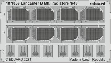 Lancaster B Mk.I - Radiators [HKM] · EDU 481059 ·  Eduard · 1:48