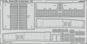Tempest Mk.II - Landing flaps [Eduard/Special Hobby] · EDU 481064 ·  Eduard · 1:48
