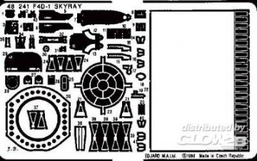 F4D-1 Skyray · EDU 48241 ·  Eduard · 1:48