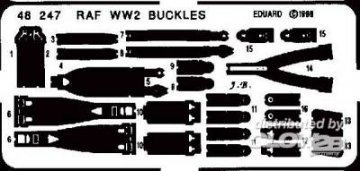 RAF WW II Gurte · EDU 48247 ·  Eduard · 1:48