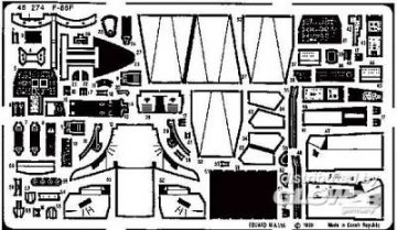 F-86F Sabre · EDU 48274 ·  Eduard · 1:48