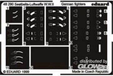 Seat Bealts Luftwaffe WWII · EDU 48290 ·  Eduard · 1:48