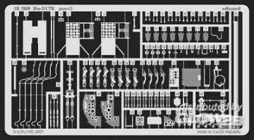 Dornier Do-217E · EDU 48360 ·  Eduard · 1:48