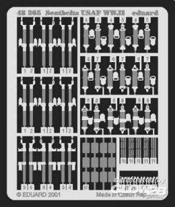 Seatbelts USAF WWII · EDU 48365 ·  Eduard · 1:48