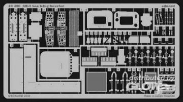 SH-3 Sea King - Interior · EDU 48408 ·  Eduard · 1:48
