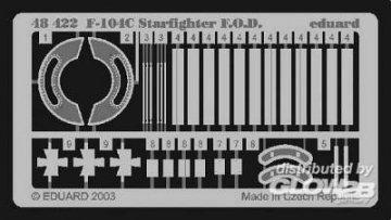 F-104C Starfighter - F.O.D. · EDU 48422 ·  Eduard · 1:48