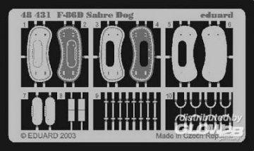 F-86D Sabre Dog F.O.D. · EDU 48431 ·  Eduard · 1:48