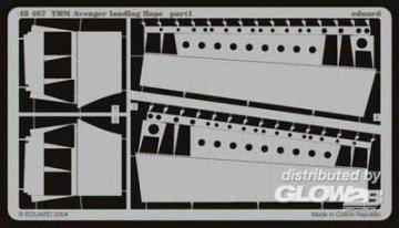 TBM Avenger - Landing flaps · EDU 48467 ·  Eduard · 1:48