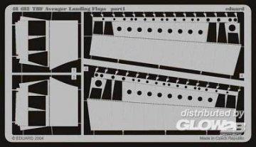 TBF Avenger - Landing flaps · EDU 48482 ·  Eduard · 1:48