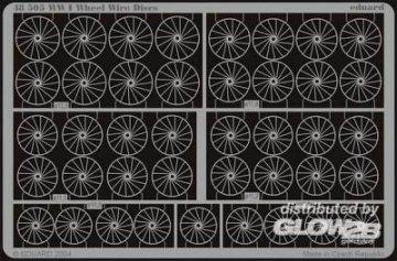 WWI Wheel Wire Discs · EDU 48505 ·  Eduard · 1:48