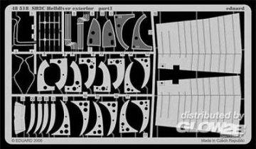 SB2C Helldiver - Exterior [Revell] · EDU 48518 ·  Eduard · 1:48