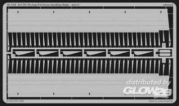 B-17G Flying Fortress - Landing flaps [Revell] · EDU 48528 ·  Eduard · 1:48