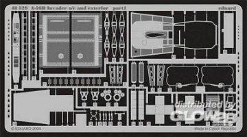 A-26B Invader u/c and exterior für Revell Bausatz · EDU 48529 ·  Eduard · 1:48