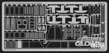 B-17G Flying Fortress - Exterior [Revell] · EDU 48533 ·  Eduard · 1:48