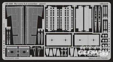 Wyvern S.4 exterior Für Trumpeter-Bausatz · EDU 48538 ·  Eduard · 1:48