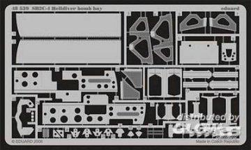 SB2C-4 Helldiver - Bomb bay [Revell] · EDU 48539 ·  Eduard · 1:48