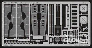 B-26 Marauder - Exterior [Revell] · EDU 48561 ·  Eduard · 1:48