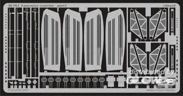 Lancaster - Exterior [Tamiya] · EDU 48564 ·  Eduard · 1:48