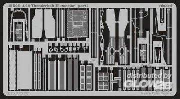 A-10 Thunderbolt II - Exterior [Italeri] · EDU 48566 ·  Eduard · 1:48