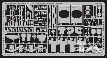 Wellington Mk.III Mid.- Fuselage Interior [Trumpeter] · EDU 48570 ·  Eduard · 1:48