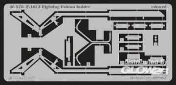 F-16CJ Fighting Falcon - Ladder [Tamiya] · EDU 48578 ·  Eduard · 1:48
