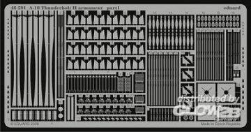 A-10 Thunderbolt II - Armament [HobbyBoss] · EDU 48591 ·  Eduard · 1:48