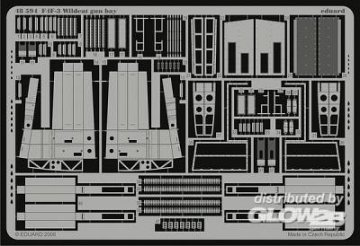 F4F-3 Wildcat - Gun bay [HobbyBoss] · EDU 48594 ·  Eduard · 1:48