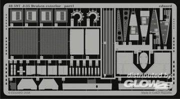 J-35 Draken exterior [Hasegawa] · EDU 48597 ·  Eduard · 1:48