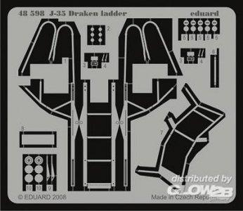J-35 Draken ladder [Hasegawa] · EDU 48598 ·  Eduard · 1:48