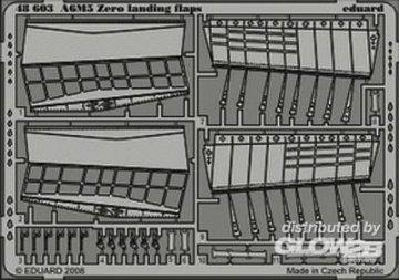 A6M5 Zero landing flaps Tamiya 61103 · EDU 48603 ·  Eduard · 1:48