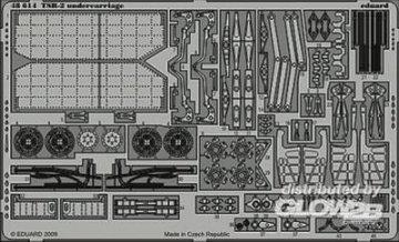 TSR-2 undercarriage Für Airfix  Bausatz · EDU 48614 ·  Eduard · 1:48